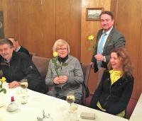 Jens Seeber gratulierte den liberalen Frauen