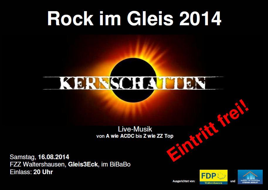 Sommerfest der FDP in Waltershausen