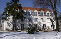 Winter am Hotel zur Post in Tabarz