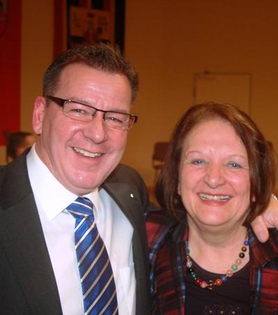 Die Ministerin bei ihrem letzten Besuch in Gotha