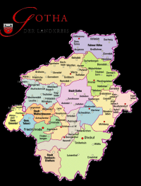 Der Süden des Landkreises Gotha ist betroffen