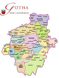 Landkreis Gotha Karte.Gebietsreform Fdp Setzt Auf Freiwillige Fusionen Und