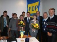 Der neue FDP-Kreisvorstand