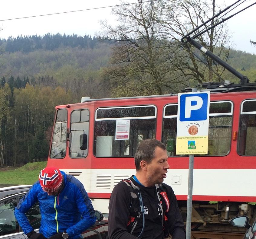 Die Waldbahn in der N�he von Friedrichroda