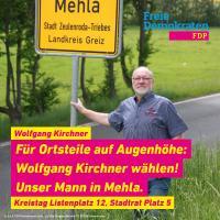 Wolfgang Kirchner - unser Mann in Mehla