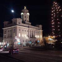 Rathaus Zeulenroda in vorweihnachtlicher Stimmung