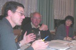 Jost Hofmann und die Leiter der Unterausschüsse