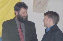 Ritzel im Gespräch mit Generalsekretär Kurth