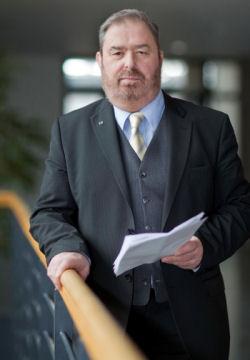Heinz Untermann im Thüringer Landtag