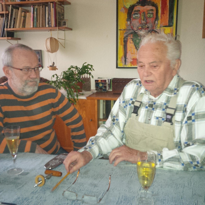 Horst Plaul (rechts) mit Günter Weidmann