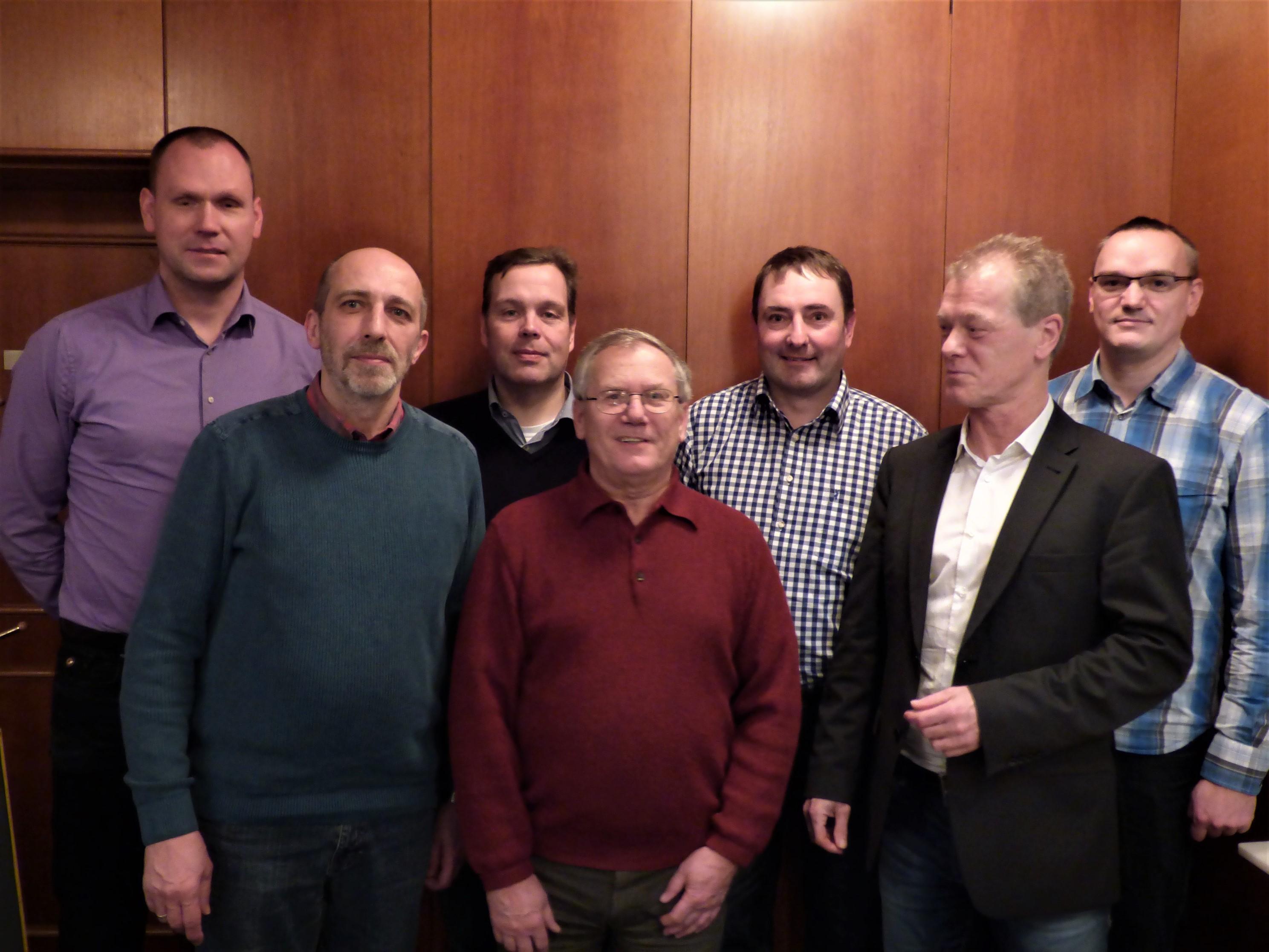 Der neue Vorstand der FDP-Ilmkreis