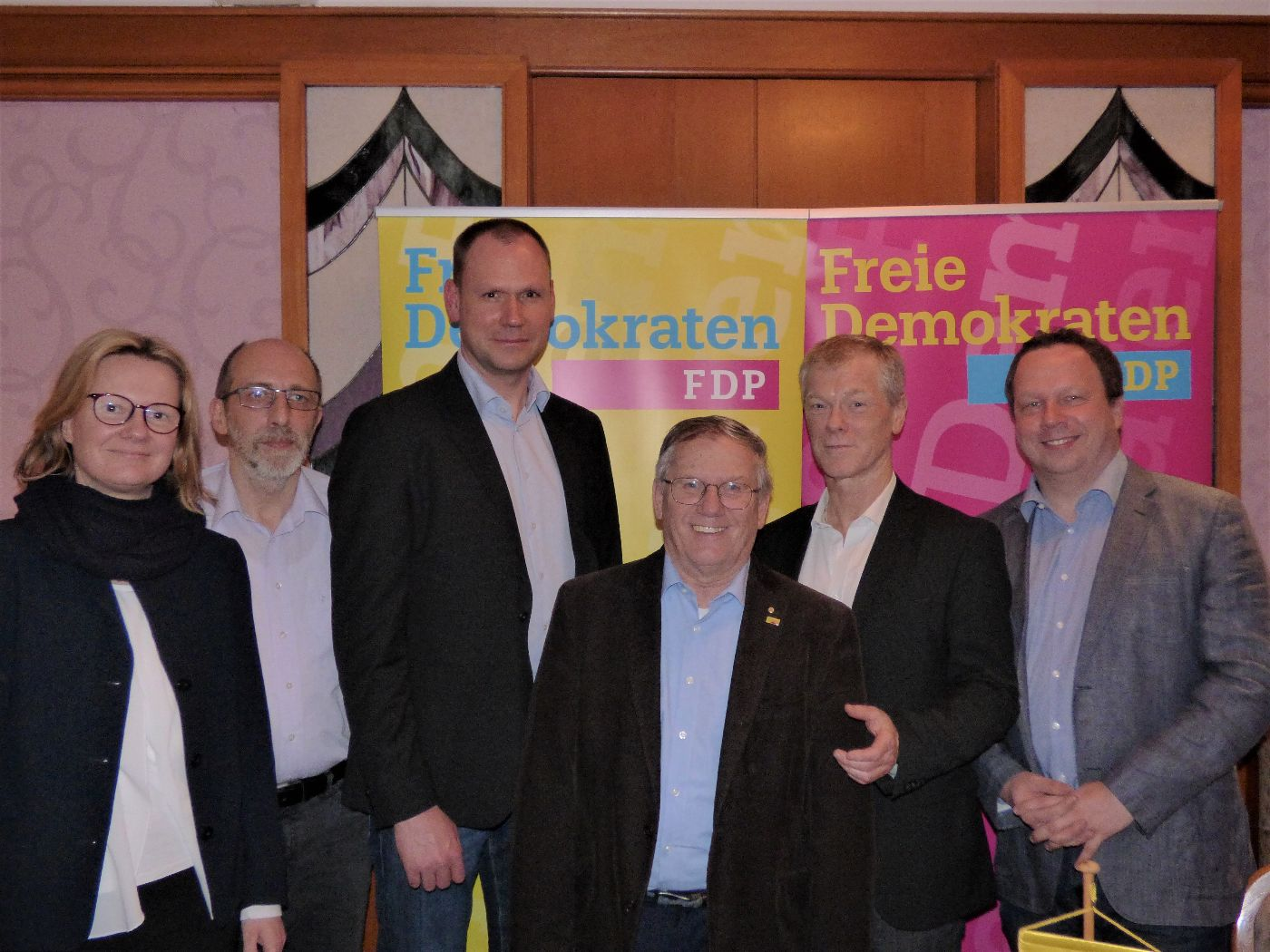 Die FDP-Kandidaten zur Kreistagswahl 2019