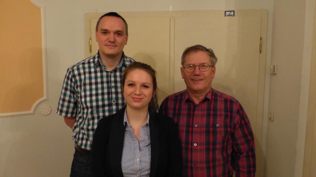 Jan Ehemann, Sophia Kruppa & Dr. Rolf Frielinghaus