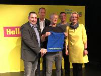 FDP-Ilm-Kreis bei der Wahlparty