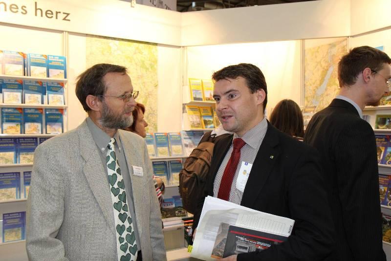 Patrick Kurth, MdB, beim Verlag grünesherz