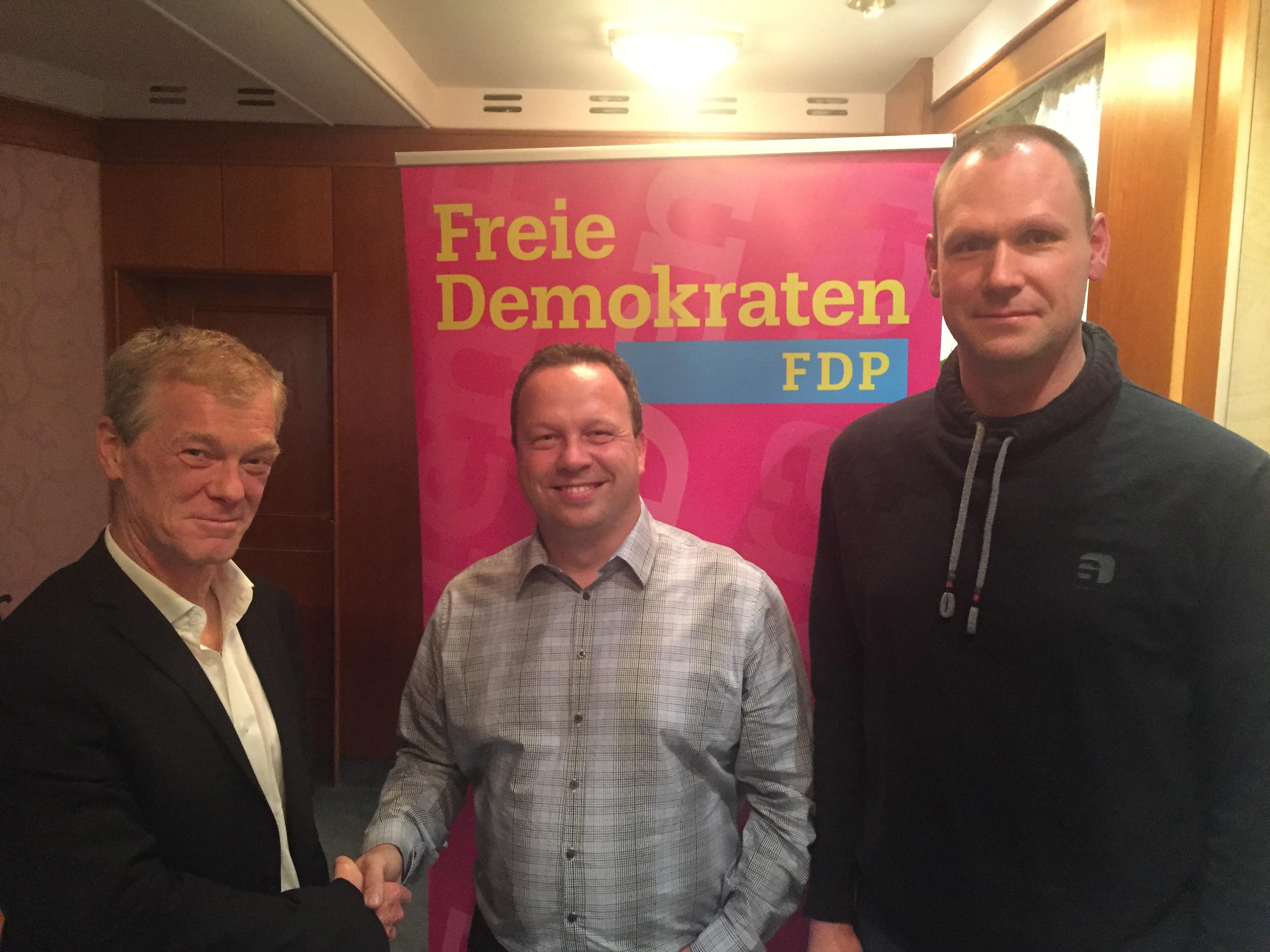 M. Mölders, C. Steinbrück und C.Stonek (v.l.n.r.)