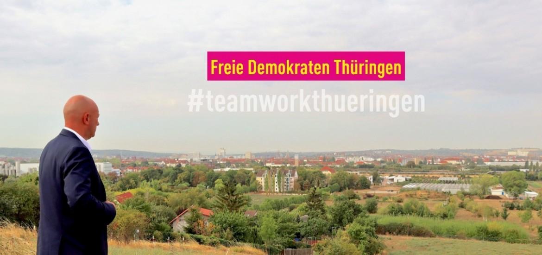 Landtagswahl 2019: Kampagnenpräsentation im Uhrenwerk Weimar