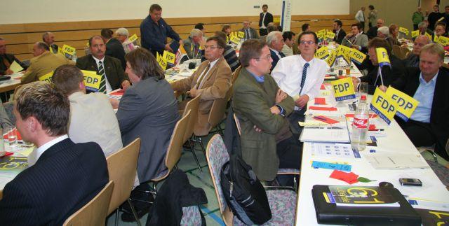 Delegierte in Steinbach-Hallenberg