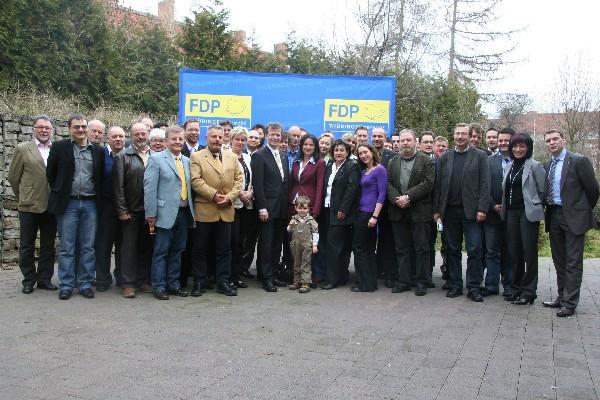 Gruppenbild: Kommunalpolitischer Kongreß