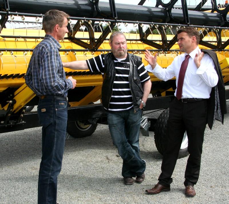 Jürgen Paffen, Heinz Untermann und Patrick Kurth