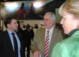 Patrick Kurth, MdB, im Gespräch mit Herr Rheinholz