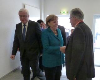 Dr. Angela Merkel und Dr. Peter Röhlinger