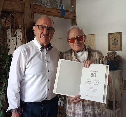 Dr. Möller und G. Richter