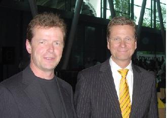 Uwe Barth & Guido Westerwelle