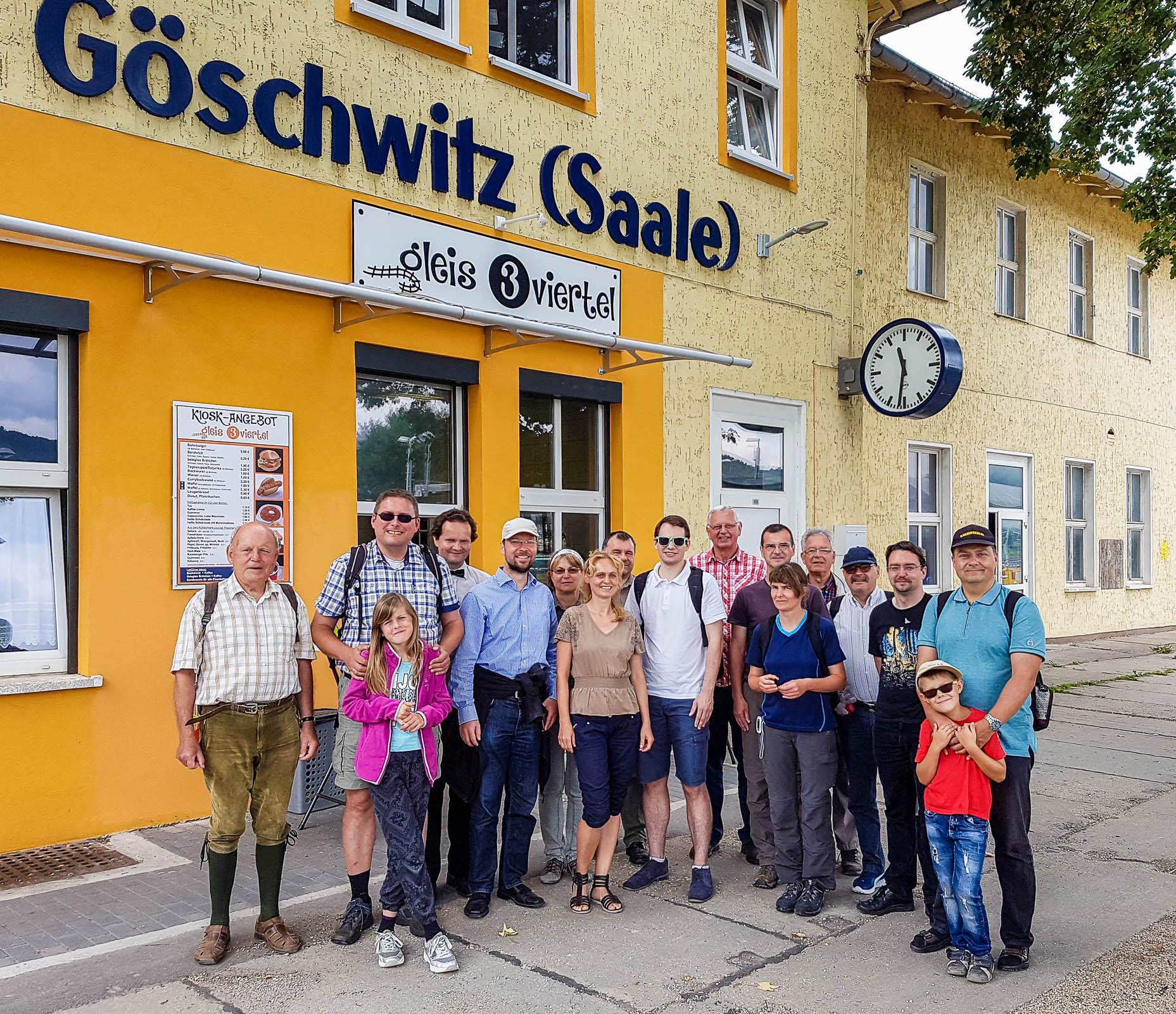 Wandergruppe der FDP Jena und SHK