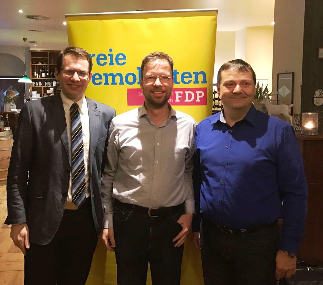Patrick Frisch, Thomas Nitzsche und Holger Joseph