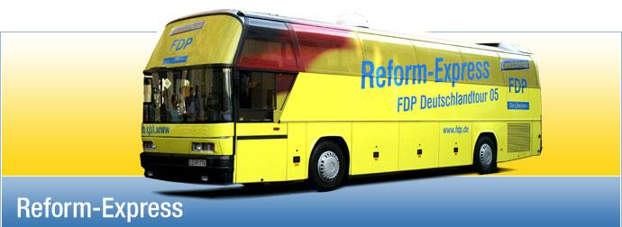 der Reform-Express
