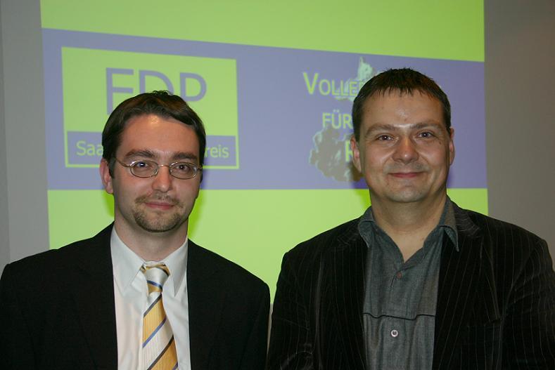 Direktkandidaten G.Jahns & H.Joseph