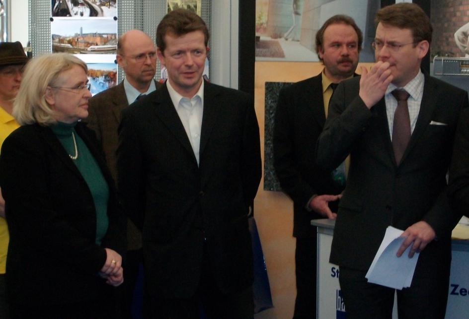 MdL Barth & Minister Carius bei der Messeeröffnung