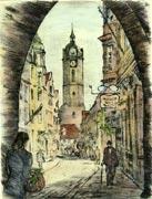 historische Johannisstraße