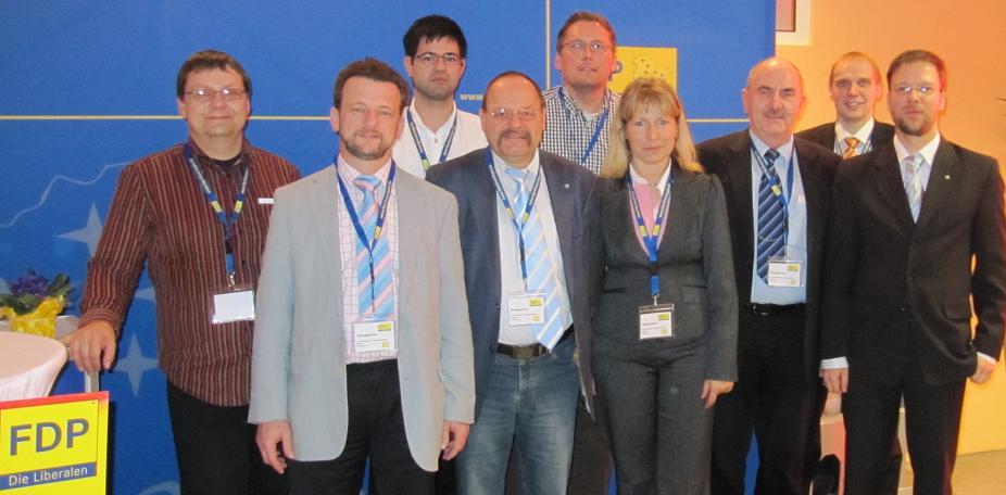 Delegierte aus dem SHK und Jena