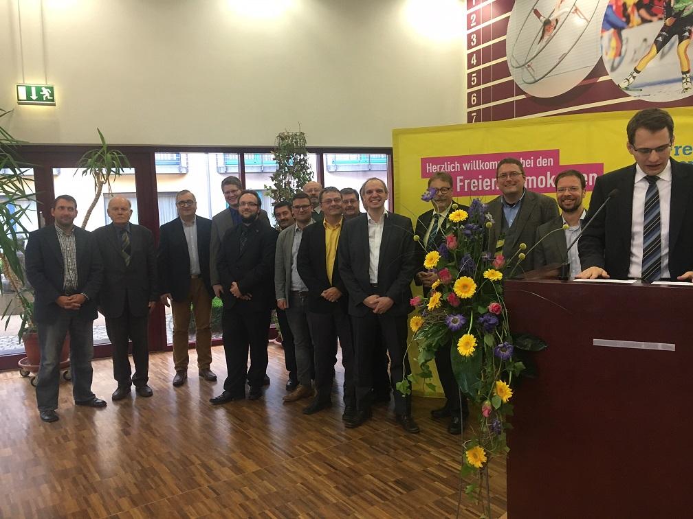 Delegierte der KV's Jena-Saale-Holzland