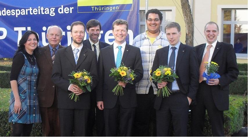 Jenaer Delegierte zum Parteitag
