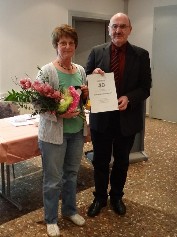 Martina Gerstenberger und Dr. Möller