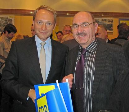 Christian Lindner und Dr. Möller