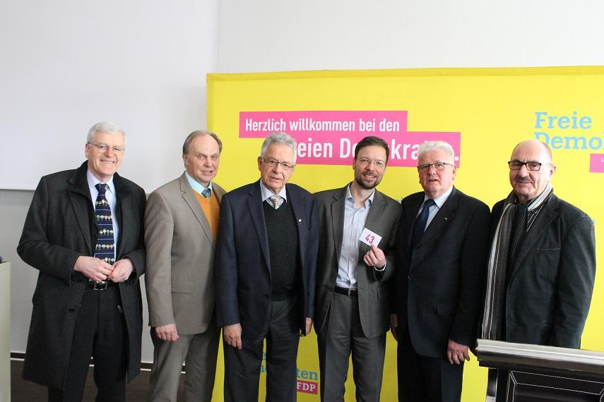 Hochrangige Gäste beim Jahresempfang der FDP