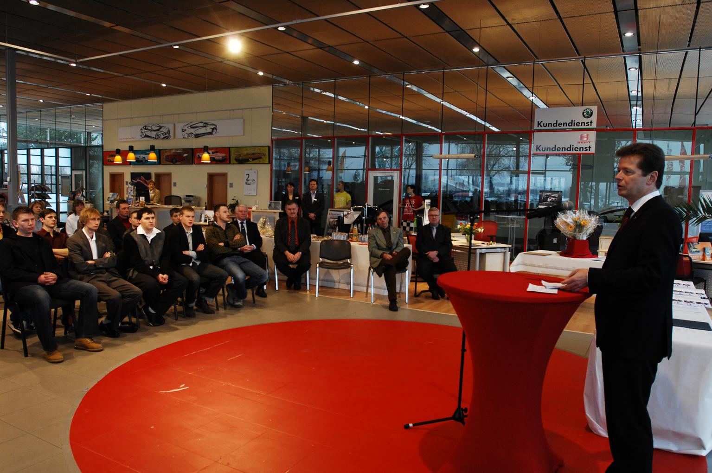 Uwe Barth vor Auditorium (Foto: Karsten Seifert)