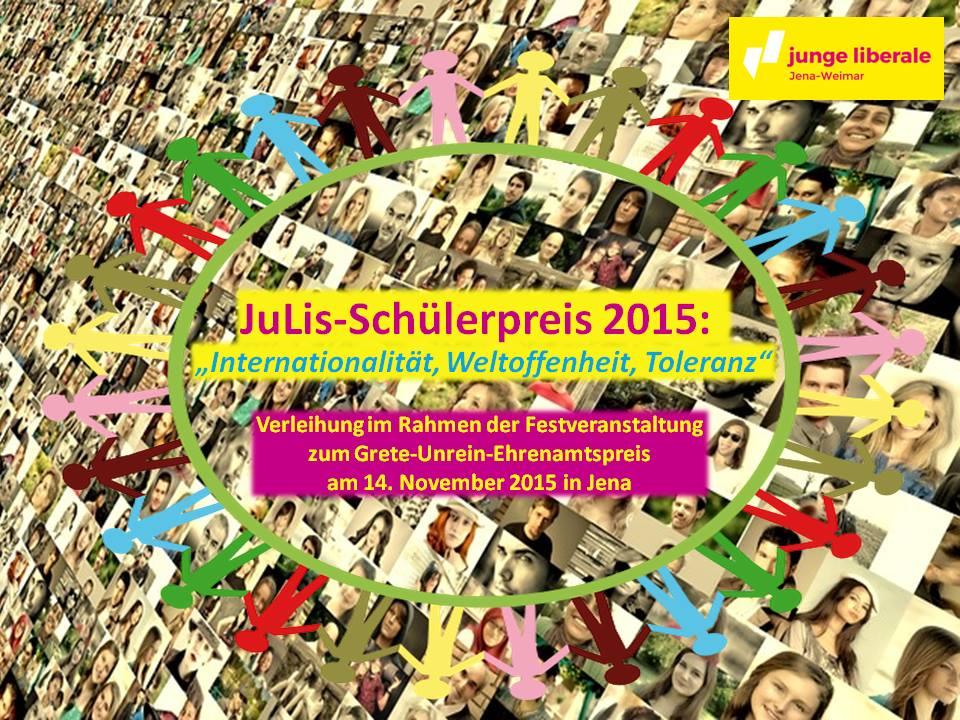 1. JuLis-Schülerpreis