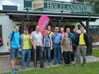 die Wandergruppe in St. Gangloff