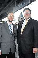 Th. Nitzsche und Patrick Döring