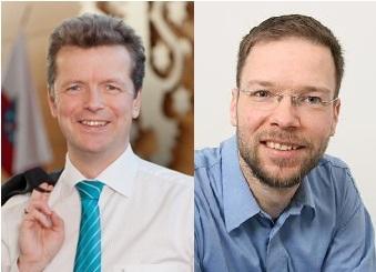 Uwe Barth und Thomas Nitzsche