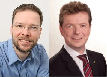 Dr. Thomas Nitzsche und MdL Uwe Barth