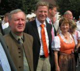 Wandern mit Guido Westerwelle