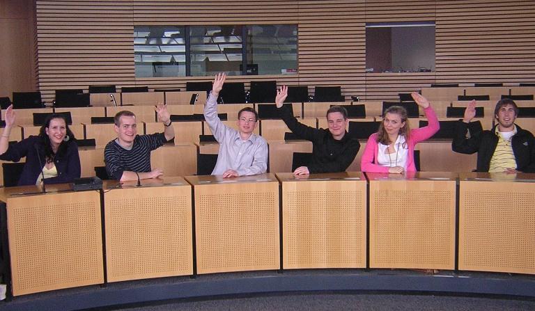 Liberales Probesitzen im Landtag: Die JuLis