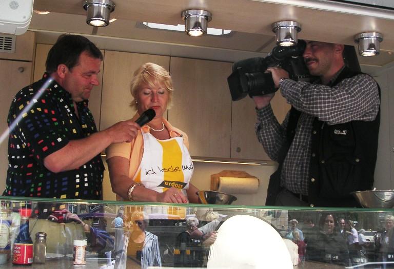 Conny Pieper war 2004 zum Eisenacher Show-Kochen