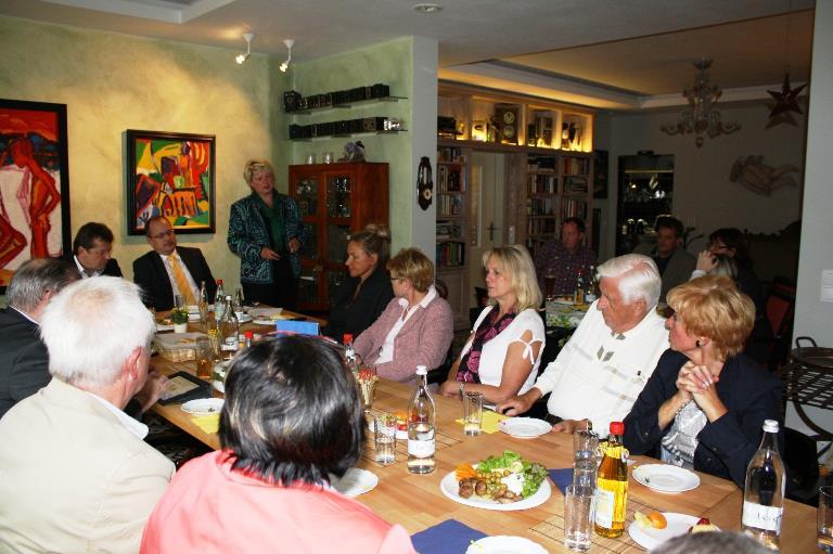 Auswärtige Fraktionssitzung in Saalfeld/ Rudolstad